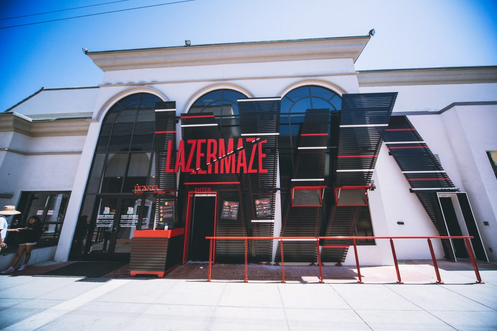 Lazer Maze Belmont Park