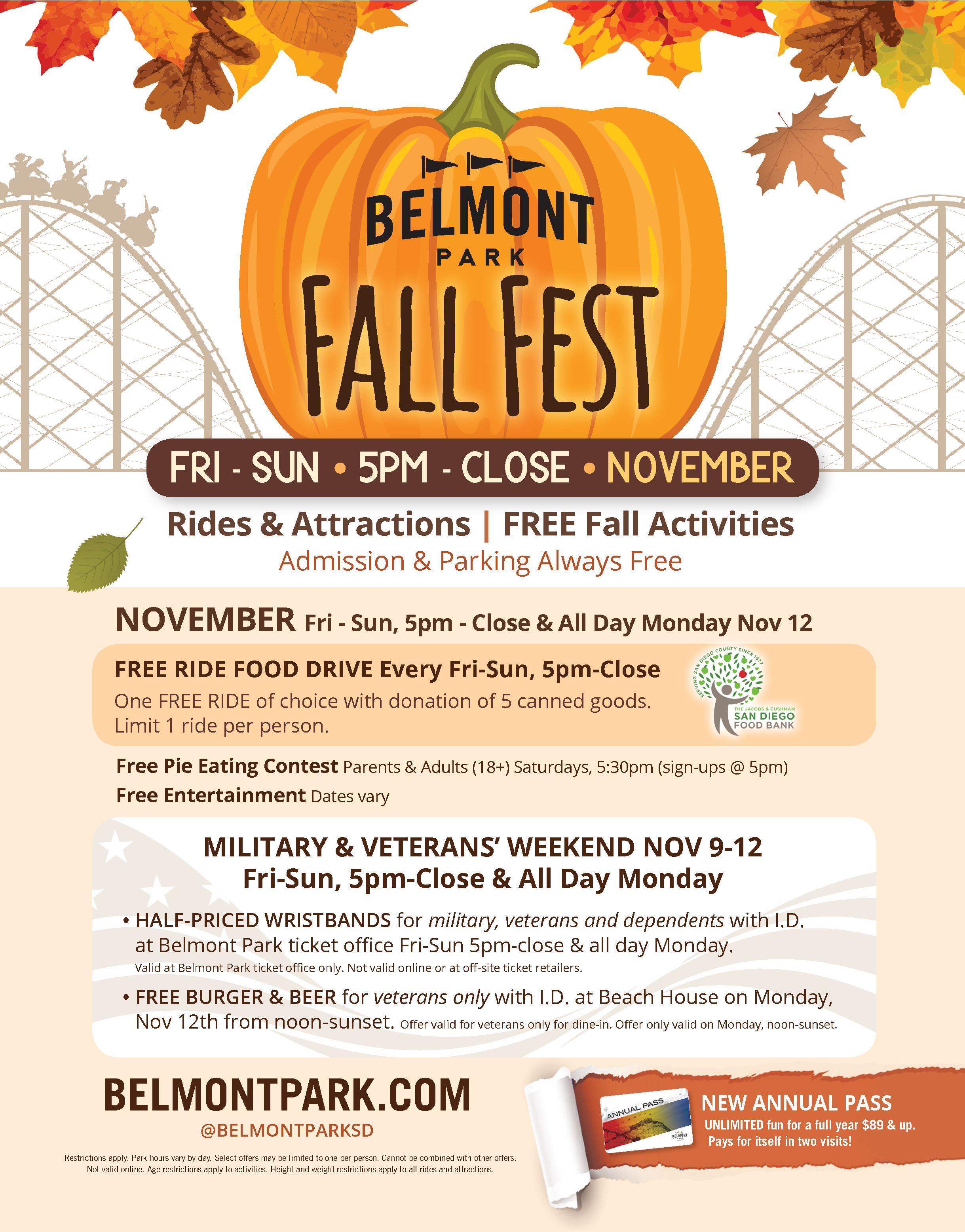 fall fest 2018 belmont park