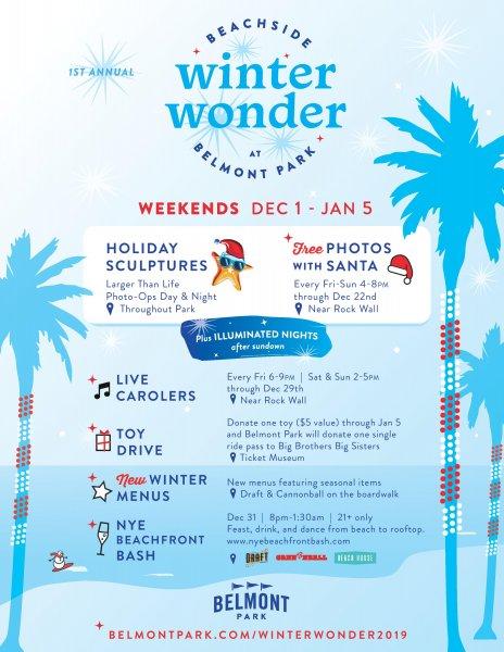 Winter Wonder Belmont Park